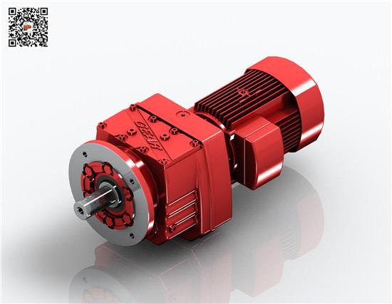 (迈传)三门峡减速机|R57-1.5KW减速机|R齿轮减速机