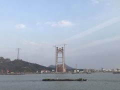 连镇铁路镇江段进展顺利 长江大桥即将进入上部结构施工