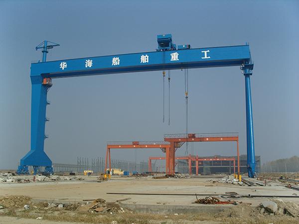 南京江宁起重机销售 安装 维修造船门式起重机