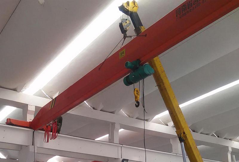 泰州起重机优质龙门吊-LX型电动单梁悬挂起重机