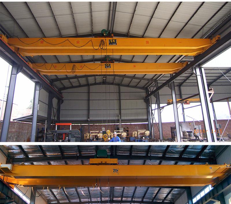 泰州起重机优质龙门吊-LHB型防爆电动葫芦桥式起重机