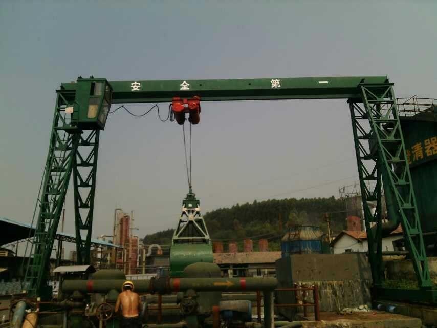 上海安装2吨单梁龙门吊起重机厂
