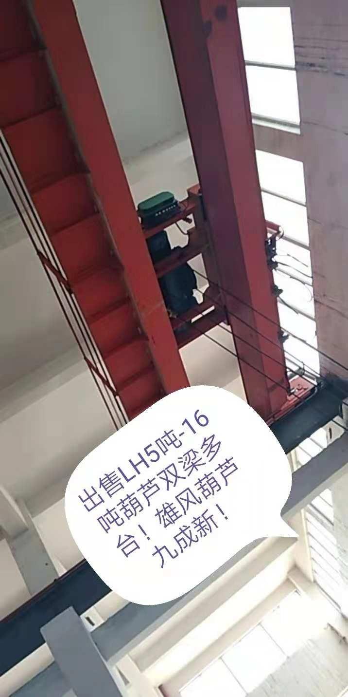 出售LH5吨_16吨葫芦双梁多台,雄风葫芦