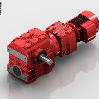 厂家批发S67R37-0.55减速机(迈传)大速比蜗轮减速机