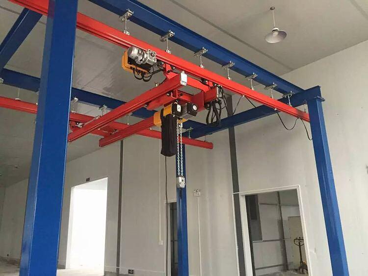 kbk柔性梁起重机、轻小型吊车车间运输设备