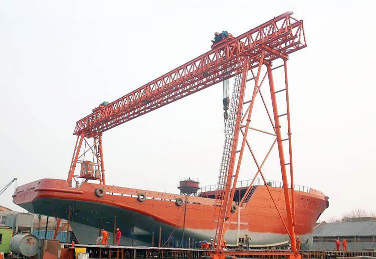 唐山起重机造船用门式起重机
