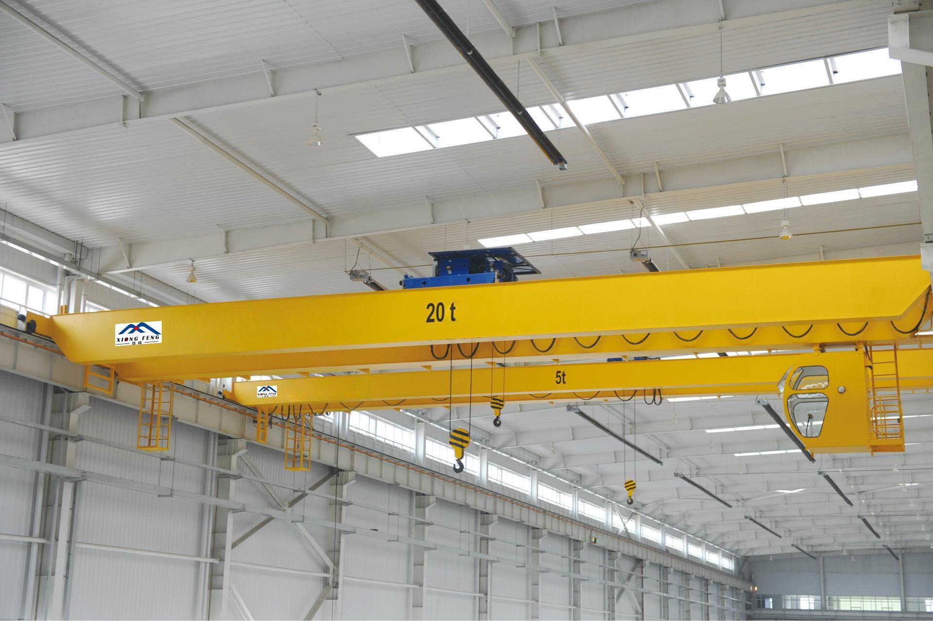 广东惠州20T桥式起重机
