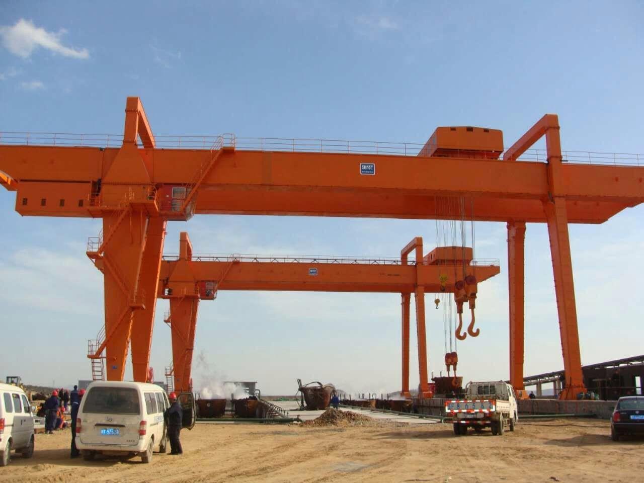重庆起重设备双桥起重机维修改造