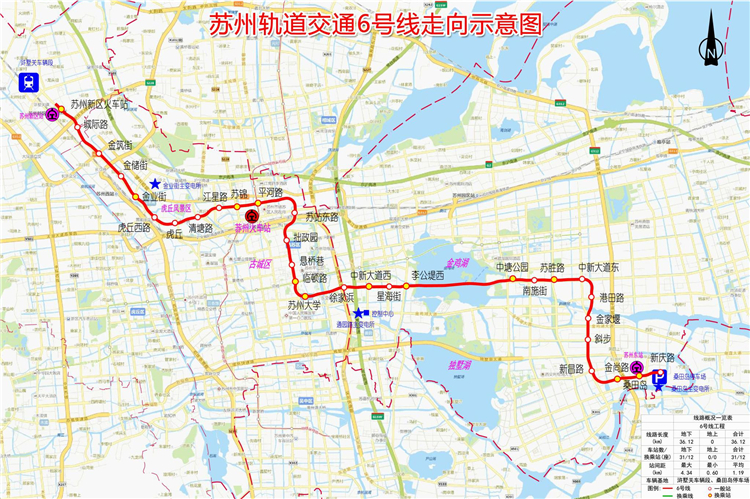 苏州轨道交通6号线、S1线工程开工 2024年将建成9条线路!
