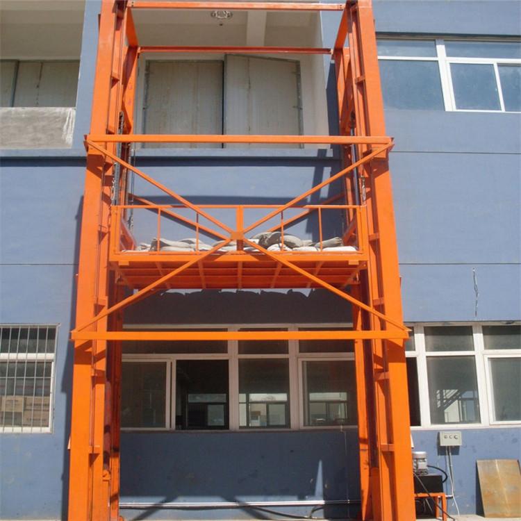 青岛供应导轨货梯