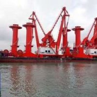 福州福清市港口起重机