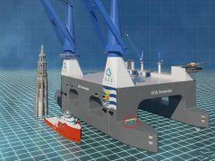 中国开造一款大国重器:起重能力2.4万吨 能捞航母两栖舰
