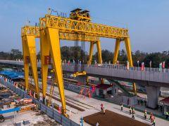"""成都轨道交通17号线一期工程开始铺轨 开通后温江迈入""""双地铁""""时代"""