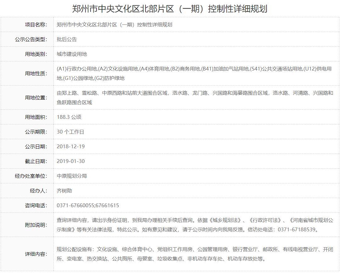 郑州二砂文化创意园等5个规划获批