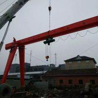 杭州起重机--余杭区MH型电动葫芦门式起重机安装现场