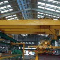 安徽宣城销售0.5吨-20吨下旋转伸缩挂梁电磁桥式起重机厂家