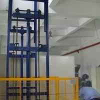 鄭州2噸鏈條導軌式升降貨梯