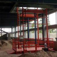 鄭州3噸鏈條導軌式升降貨梯