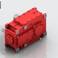 佳木斯齿轮减速机 HB工业齿轮箱 迈传减速机