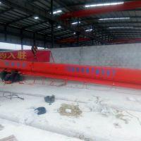 广西南宁销售0.5吨-10吨LDA型单梁起重机_安装现场