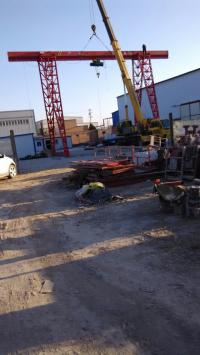寧夏中衛10噸龍門吊生產廠家