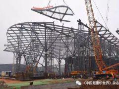 67天!4.5亿产值!全球最大会展中心北区钢结构工程完工!