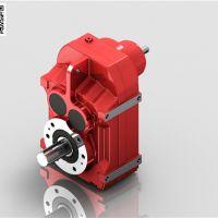 金山平行轴斜齿轮减速机-FS67平行轴减速机 迈传减速机