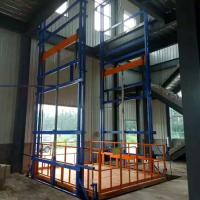 安阳0.5T导轨式液压升降货梯升降机厂家直销