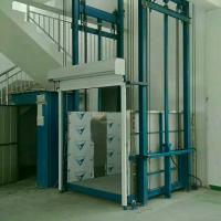 焦作1T导轨式液压升降货梯升降机厂家直销