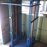 焦作3T导轨式液压升降货梯升降机厂家直销