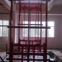 新乡0.5T导轨式液压升降货梯升降机非标定制厂家直销