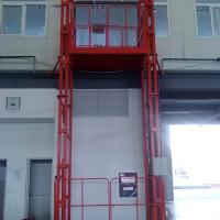 新乡1T导轨式液压升降货梯升降机非标定制厂家直销