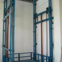 新乡2T导轨式液压升降货梯升降机非标定制厂家直销