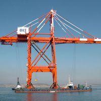 江西南昌厂家—销售供应50吨岸边集装箱门式起重机