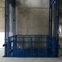 开封1T导轨式液压升降货梯厂家直销