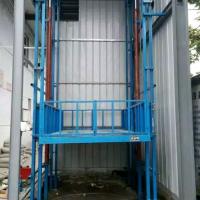 鹤壁0.5T导轨式液压升降货梯厂家直销