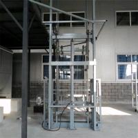 鹤壁1T导轨式液压升降货梯厂家直销