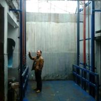 鹤壁2T导轨式液压升降货梯厂家直销