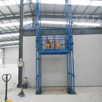 鹤壁5T导轨式液压升降货梯厂家直销