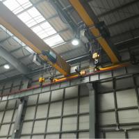 供应成都5吨行车航吊欧式电动单梁起重机电动葫芦专业20年