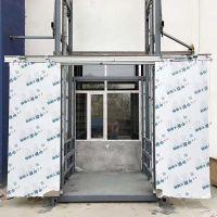 开封0.5T厢导轨式液压升降货梯升降机非标定制厂家直销