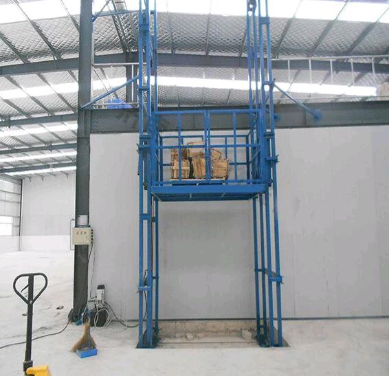 洛陽0.5T導軌式液壓升降貨梯廠家直銷
