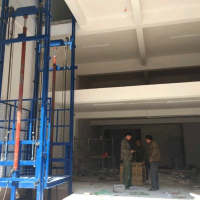 商丘1T导轨式液压升降货梯升降机厂家直销