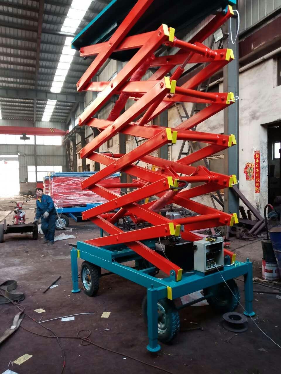周口300KG液壓升降平臺升降機定制廠家直銷