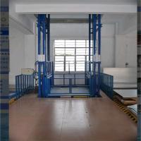 驻马店2T导轨式液压升降货梯升降机厂家