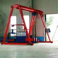 宁夏吴忠红寺堡5吨低净空门式起重机厂家直销