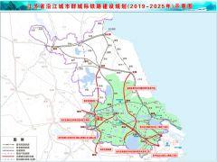 宁淮城际开工时间确定!设计时速350公里双线客运专线铁路