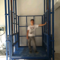 濮阳3T导轨式液压升降货梯升降机厂家直销