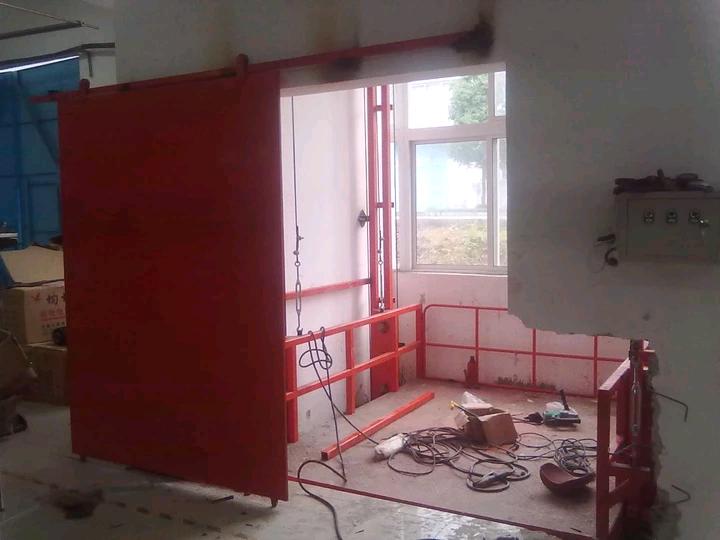 濮陽5T導軌式液壓升降貨梯升降機廠家直銷